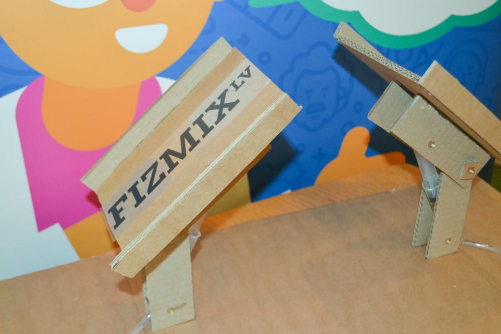 FIZMIX būvē tiltu